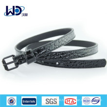 2015 China wholesale ladies black PU belts