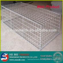 Galvanizado Soldado Gabion cesta / malla para la venta a bajo precio