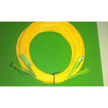 Cordon de raccordement fibre optique - E2000 / APC-Sc / APC 2.0mm