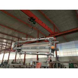 Hydraulic Driven Food Beverage Cast Iron Filter Press