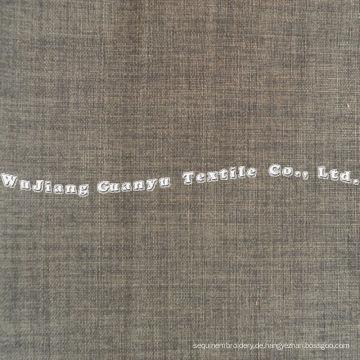 Home Textile Polyester Leinen Stoff für die Dekoration