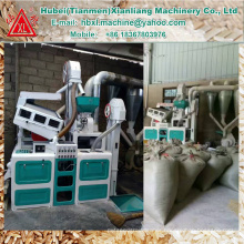 Manufacturer fully automatic portable parboiled rice mill