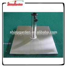 С Рождеством функциональная квадратная стальная зонт основание, стальное основание