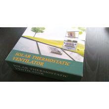 Ventilateur thermostatique solaire ventilateur