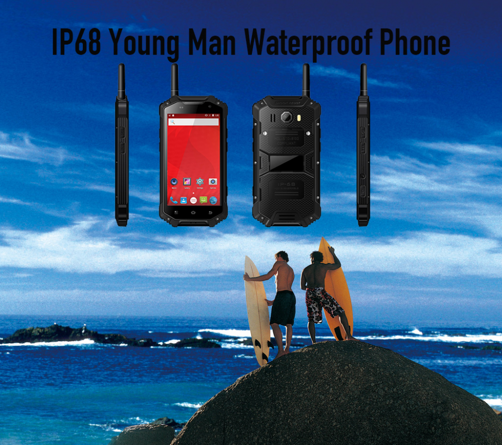 IP68 Young Man Waterproof Phone