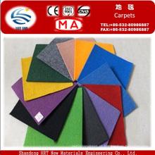 Feito para encomendar poliéster e polipropileno Plain Exhibition Carpet com preço barato