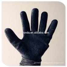 7G, 10G, 13G, 15G gants de travail revêtus de latex gant à tricoter