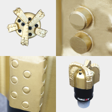 Steel body diamond bits