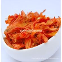 Flor del lirio seco refinado alto