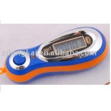 regalo promocional MP3 5 dígitos contador de cuenta de mano