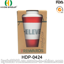 450ml Eco-Friendly Bamboo Fiber Cup Made in China (HDP-0424)