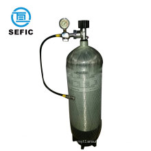 pcp airgun/rifle/airsoft 3L 6.8L 9L water capacity 4500psi carbon fiber composite air cylinder