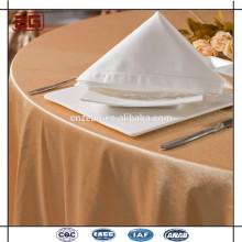 Vente en gros d'élégantes serviettes de table en polyéthylène de luxe à base de coton pur et pur en vrac