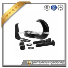 Hot sale customized trailer parts 10000lbs black coating ram horns for sale