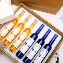 Gold Luxury Wine Paper Box and Bag