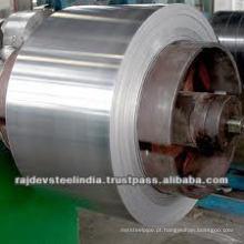 Material de aço inoxidável de alta qualidade, STRIP com 200,300,400series Grade e vários acabamentos 2B / BA / Mirror / No.4)