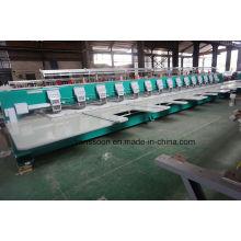 9 agulhas 15 cabeças de máquina do bordado liso (com cortador)