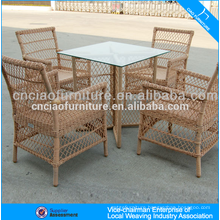 Factory Best Price Top Sale 4 Piece Synthetic Rattan Furniture