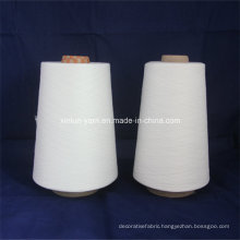 Customized Yarn Count 100% Polyester Spun Yarn for Knitting&Weaving