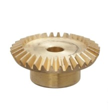 CNC Machined Brass Spiral Bevel เกียร์