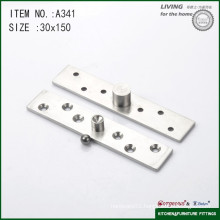 304 stainless steel central axis door pivot hinge for glass door A341 150*30