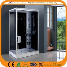 Grey Glass Steam Shower Cabins (ADL-8908)