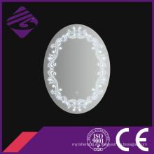 Jnh225 Nuevo espejo oval de los muebles del cuarto de baño de la llegada con el reloj