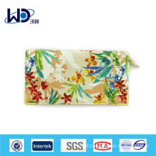 China style ink and wash painting long canvas wallet