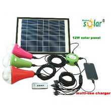 Solar Indoor Bright Lighting Solar Home Lamp System With High Quality