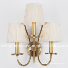 Wholesale Iron Wall Lamp with Fabric Shade (SL2016-3B)