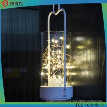 Luz de cadena de alambre de cobre LED de color amarillo