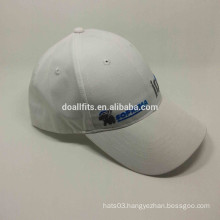 Six panels with flat embroidery baseball cap