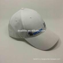 Шесть панелей с плоской бейсбольной шапкой для вышивания