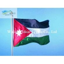 100% poliéster nacional bandeiras acabamento/bandeiras