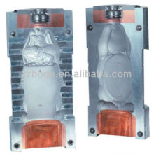 Plastic tank/bottle blowing mould