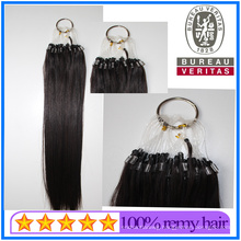 Whosale High Quality Human Virgin Remy Hair Micro Ring Beads Easy Pull Miro Loop Ring Hair Extension