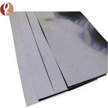 feuille de tungstène pure de haute qualité