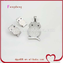 Stainless steel fashion jewelry wholesale