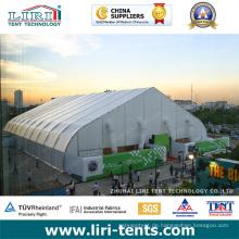 PVC TFS im Freien gebogene Dach-Struktur-Militärgebrauchs-Zelt