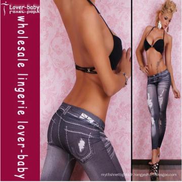 2012 Legging Black Jeans Legging pour les filles (L9416)