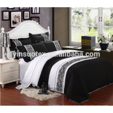 new design 3pcs polyster fillter yarn dyed bedding set