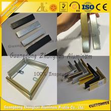 Cadre en aluminium brossé de finition de fournisseur de la Chine pour la photo / image