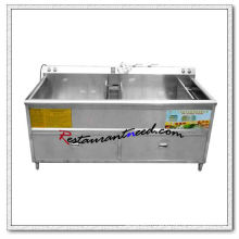 F047 340L Double Tanks Commercial Laveuse de fruits et légumes