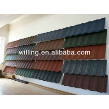 Colorful Corruagated Stone Coated Metal Roofing Sheet