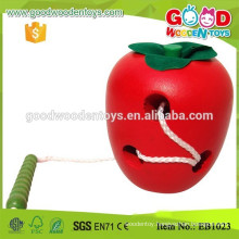 Preschool Biology Learing Wooden Fruit Toy