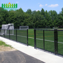 Pvc coated Chain Link Fence diamond Wire Mesh