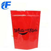 Aluminum foil plastic coffee stand up pouch