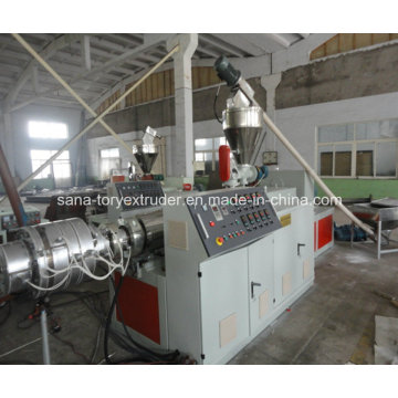 High Quality 50-110mm Plastic PVC Pipe Extrusion Machine