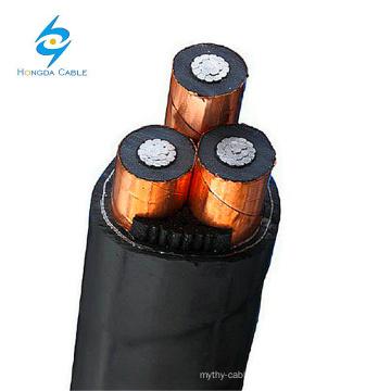 3 ядра Аль-xlpe Изолировало 300мм 15кв 25кв подземный кабель