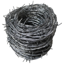 China supplier military hot dipped electro galvanized barbed wire barb wire high tensile 50kg rolls